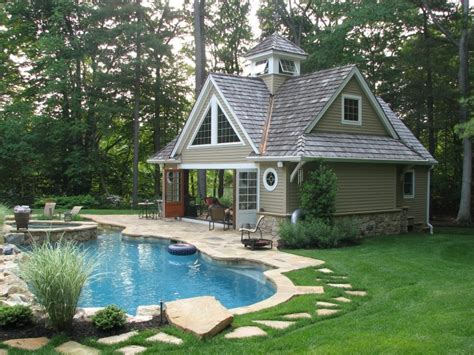 Timber Frame Pool House Completed Pics By Timber Frame Pool House Plans