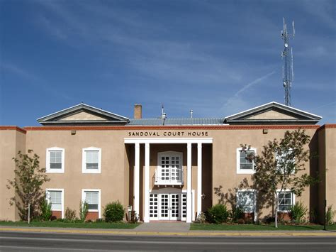 Bernalillo Court Records File Sandoval County New Mexico Court House Jpg Wikimedia Commons