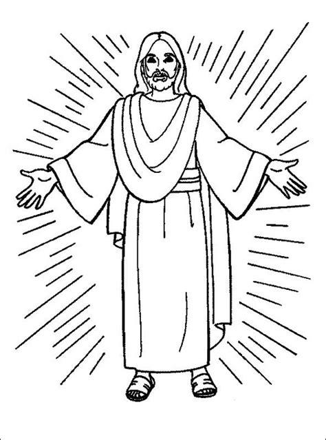 imagenes de jesus para colorear imprimir jes 250 s resucitando para colorear pintando a jes 250 s de