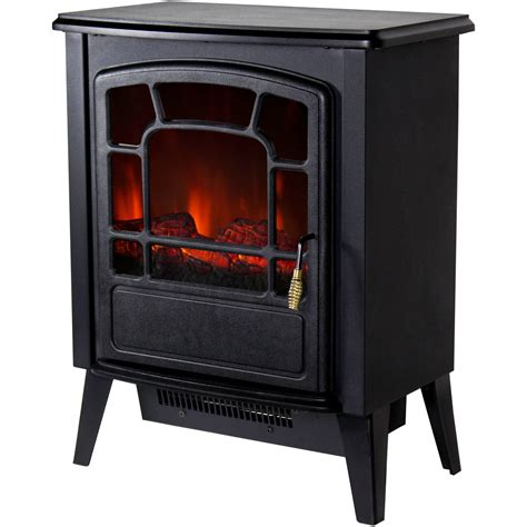 style electric fireplace warm house bern retro style floor standing electric