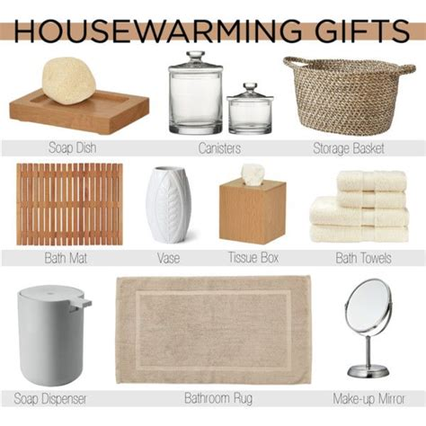 housewarming gift ideas bathroom gift ideas