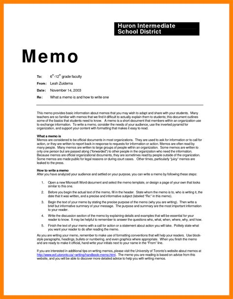 What Is Business Letter And Memo 7 memo format sle protect letters