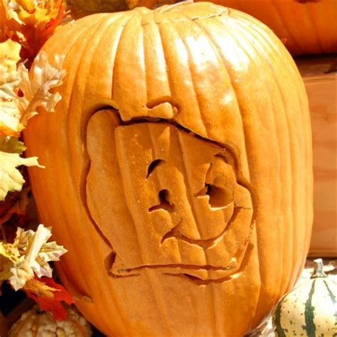 winnie the pooh pumpkin carving template disney family