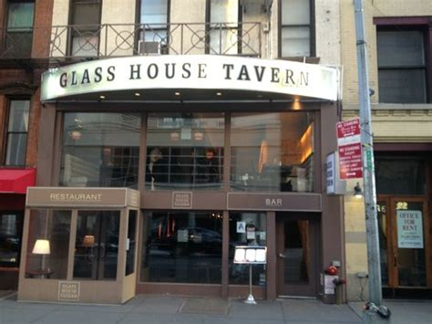 glass house nyc glass house tavern reviews new york city new york state gogobot