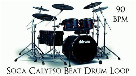 drum rhythm loops soca calypso beat drum loop 90 bpm youtube