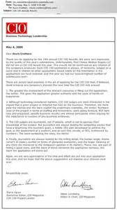 Cio Cover Letter by Sle Cio Resumes Resume Cv Cover Letter Sle Cover