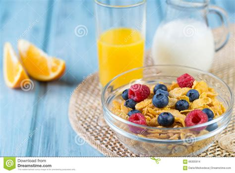 Ejuice Matjan Breakfast Berry Cereal Milk healthy breakfast with cereals and berries in an e stock photo cartoondealer 41447250