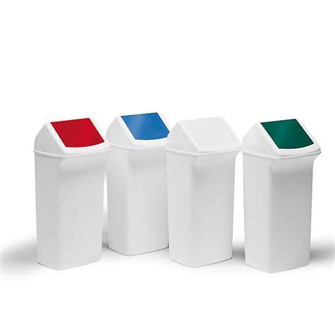 plastic swing bins plastic swing top bins 40l aj products ireland