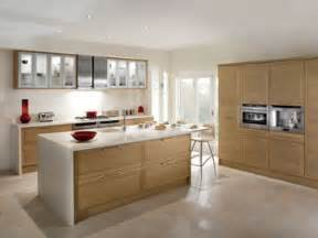 Open Kitchen by Magnet Kitchens Cubista Oak Light And Airy Yet At The