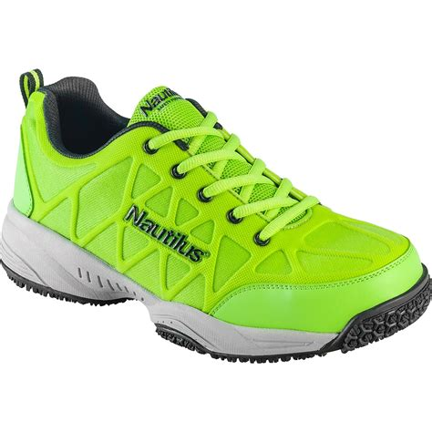 slip resistant athletic shoes composite toe hi vis slip resistant athletic shoe nautilus