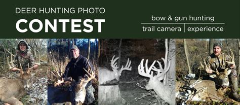 Deer Hunting Sweepstakes - enter the 2nd annual deer hunting photo contest badger corrugating company
