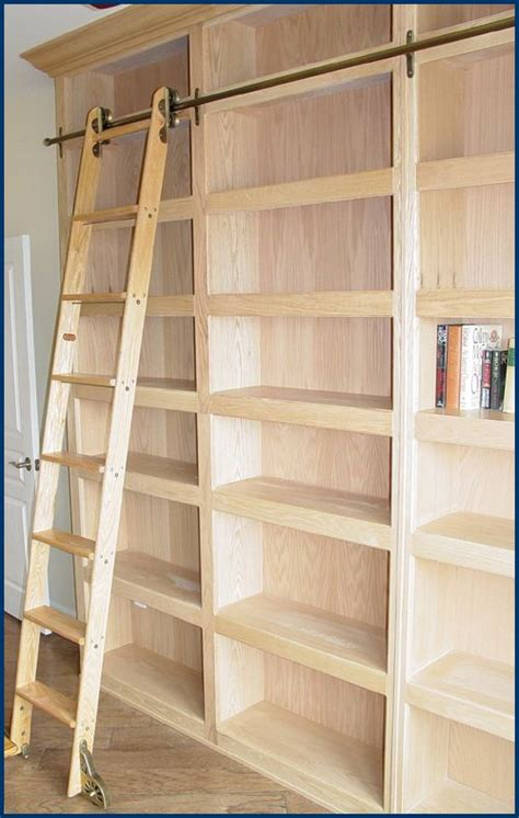 Library Bookcase With Ladder 25 Best Ideas About Library Ladder On Bookcase With Ladder Book A Study Room And