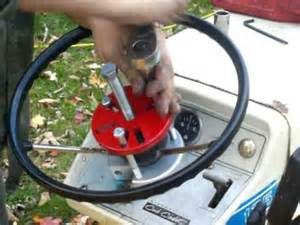 Steering Wheel Puller For Boat Cub Cadet Mo 125 Steering Wheel Removal Tool Demonstration