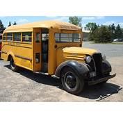 Student Transit 1937 Chevrolet School Bus  Fast Freddies