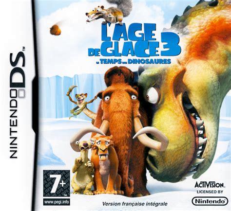 Nintendo E Shop Region Usa 20 l age de glace 3 le temps des dinosaures nds nds