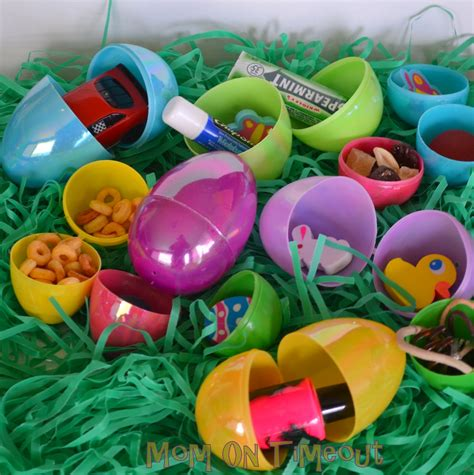 ideas for easter eggs 20 non candy easter egg stuffer ideas mom on timeout
