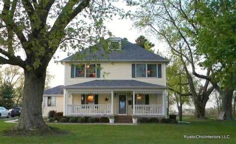 Farm House House Plans Quot American Foursquare Quot Farmhouse Farmhouse Exterior