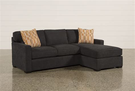 Sectional Sofa With Chaise And Ottoman Taren Reversible Sofa Chaise Sleeper W Storage Ottoman Living Spaces