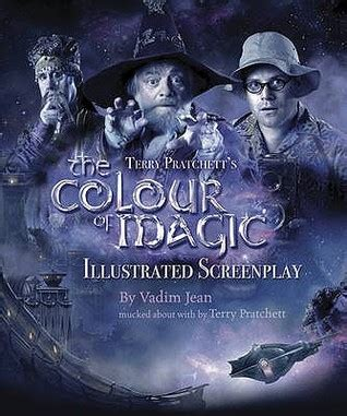 the color of magic book the colour of magic the illustrated screenplay by vadim jean