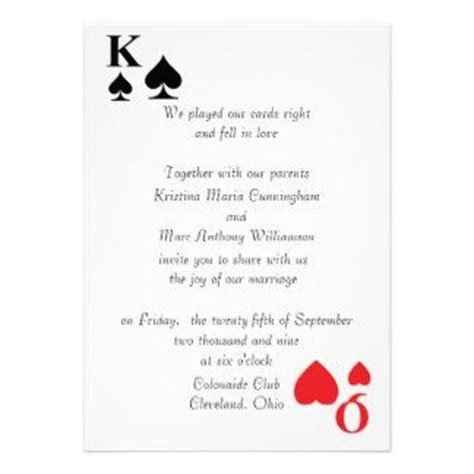 king of hearts card template 17 best images about wedding invitations on