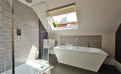bathroom in loft conversion loft conversion in brighton east sussex amazing space