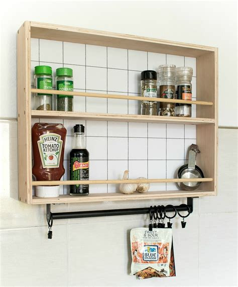 how to build a hanging spice rack and a ryobi giveaway