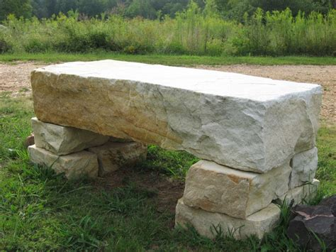 stone benches natural stone steps and benches ideas from gottschalk quarry
