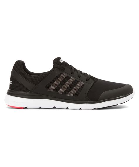 adidas originals s cloudfoam xpression sneaker running shoes in black white lyst