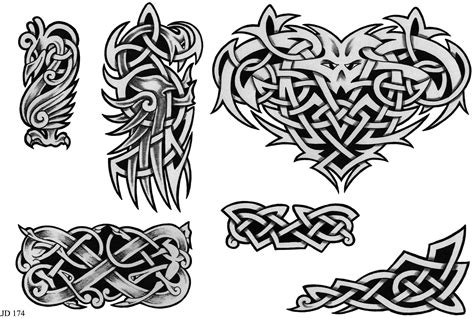 celtic art tattoo designs celtic designs sheet 174 celtic designs