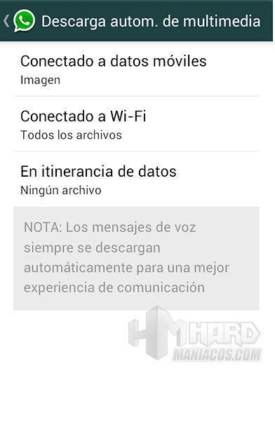 tutorial whatsapp para android tutorial android desactivar auto guardado de archivos en