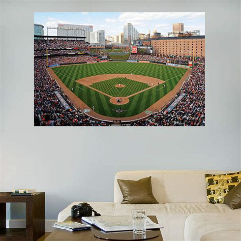 Orioles Bedroom Decor by Inside Oriole Park At Camden Yards Mural Fathead Wall Decal