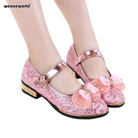 flower dress shoes aliexpress buy weoneworld pink shoes 2017