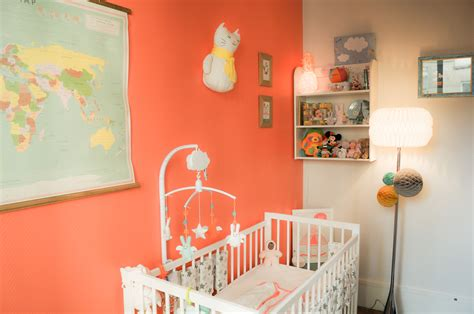 chambre enfant orange stunning chambre bebe orange et photos yourmentor