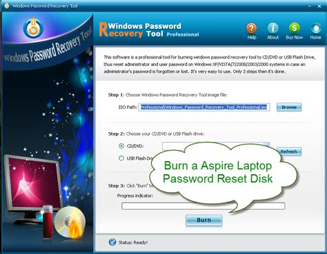password reset on xp lost acer windows 7 logon password fixya