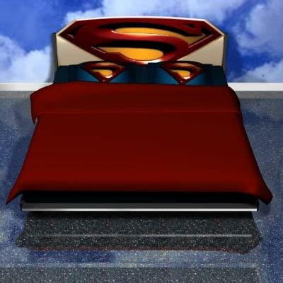 superman bed 3dsmax bed superman