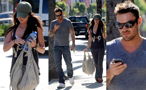 Leaving Lindsay In The Dust by Exclusive Megan Fox Left In The Dust Starzlife