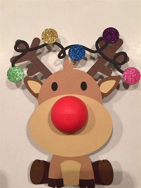 eos reindeer card free template 1000 images about rudolph crafts on gift card