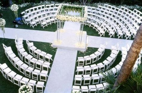 wedding ceremony layout chairs outdoor ceremony seating trends reinvent your ceremony