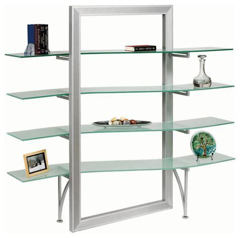 elegant wall shelves dainolite dbs 400 gl sv elegant free standing shelf
