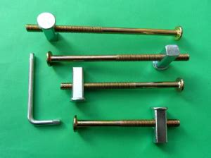 bunk bed connectors bed assembly fittings sets knock down connectors