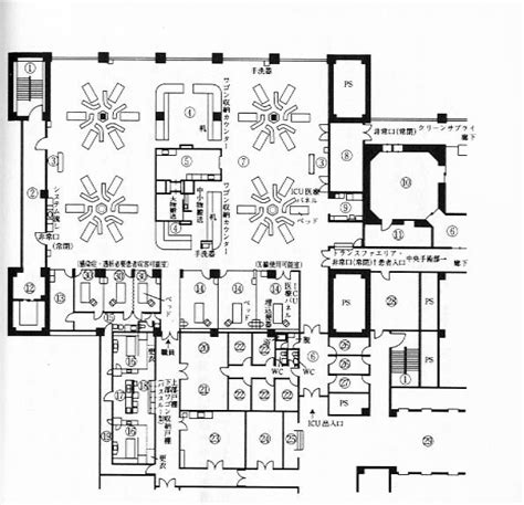 mental hospital floor plan mental hospital floor plans