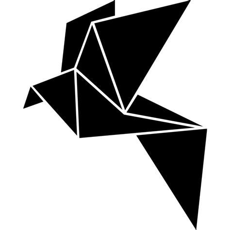 Dessin Oiseau Origami by Sticker Design Un Oiseau Origami Stickers Animaux