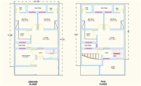 2d home design online free autocad 2d house plans on behance
