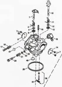 carburetor diagram tecumseh