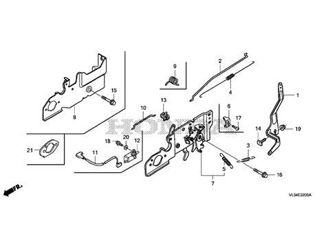 honda parts diagram honda hrr2169vka lawn mower diagrams honda auto parts