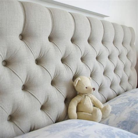 linen upholstered king headboard best 25 king size upholstered headboard ideas on