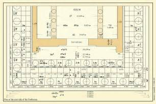 Floor Plan Of The Parthenon Parthenon Measurements Submited Images
