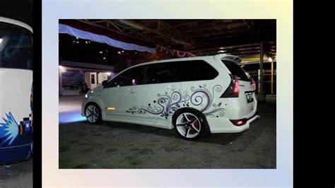 Lu Stop Avanza Veloz foto modifikasi mobil avanza terbaru