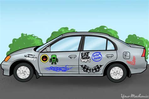 How To Take Stickers Car how to take stickers your car yourmechanic advice