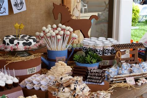 Cowboy Themed Baby Shower Ideas by Cowboy Baby Shower Theme Western Baby Shower